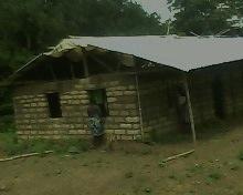 Traditional birth attendants structure in Rogbora, Moyamba