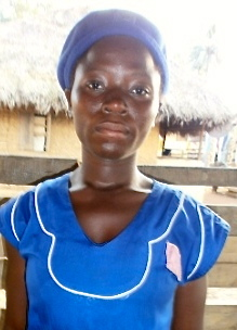 Student Betty Allie will continue with her studies thanks to Moyamba district Peace Mothers