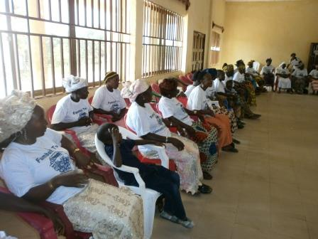 A cross section of peace mothers