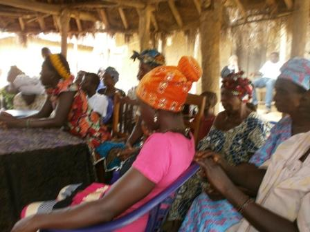 Peace Mothers in Rapt Attention