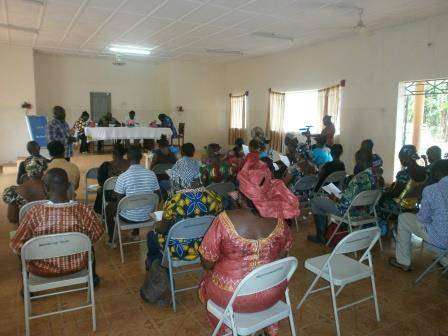 Moyamba participants in rapt attention