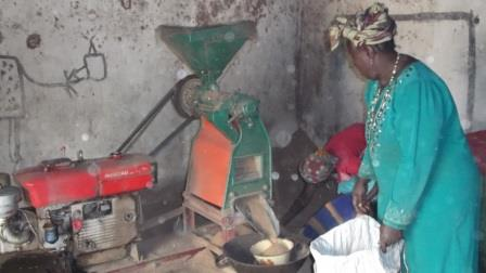 Rice mill serves as livelihood project for peace mothers