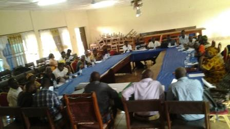 A cross section of IDPDC members from other districts