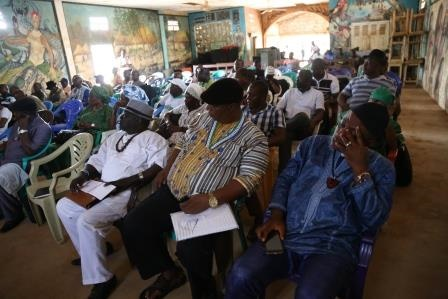 A cross section of Paramount Chiefs