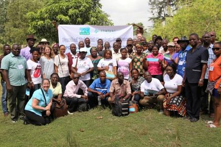 Participants at the end of the three days conference in Taiama